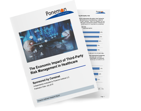 Survey Report: <br>The Economic Impact of Third-Party Risk Management</br>