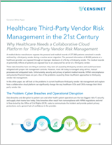 Healthcare Third-Party Vendor Risk Management White Paper