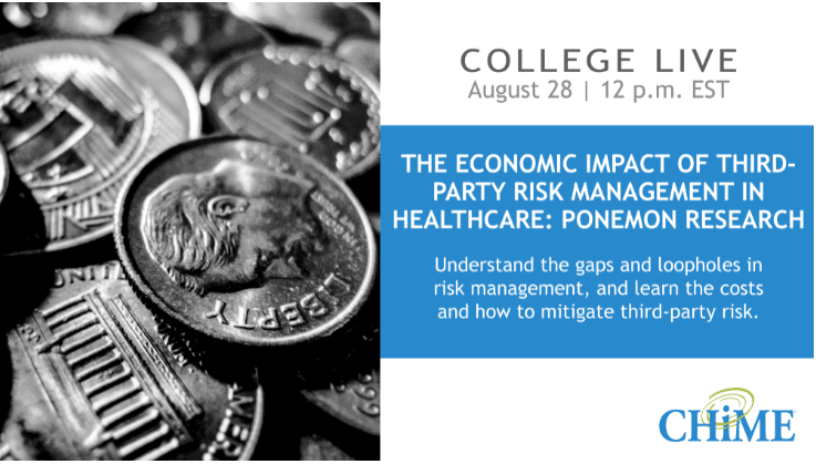 The Economic Impact of Third-Party Risk Management in Healthcare: Ponemon Research