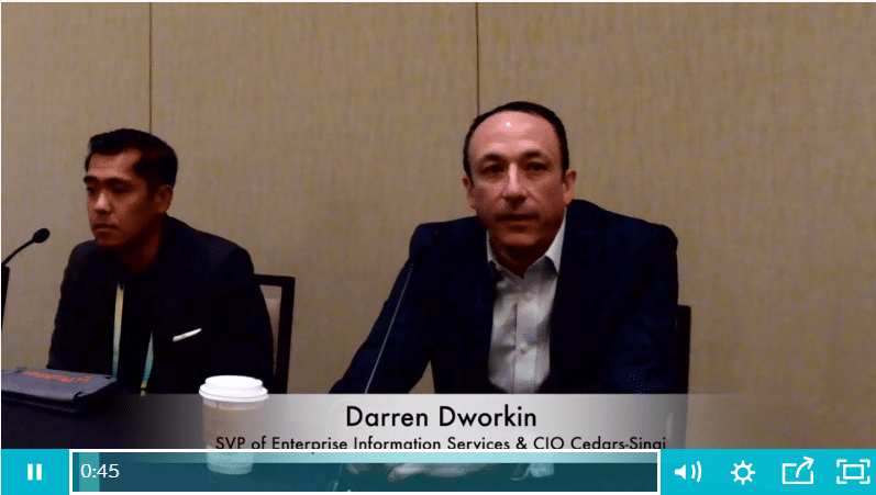CHIME CIO Panel Video: Managing Threats to Patient Care Through Third-Party Risk Management